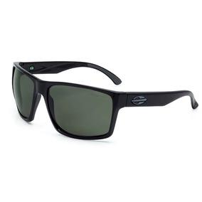 Óculos De Sol Mormaii Preto Brilhante Lente Polarizada Aruba ... 1de9d3e277