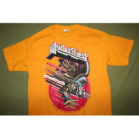 Gusanobass Playera Rock Metal Judas Priest Screaming Heavy