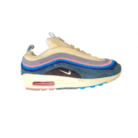 outlet store 39d90 dd770 Tenis 2019 Nike Air Max 97 Negro Blanco