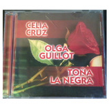 Cd - Celia Cruz - Olga Guillot - Toña La Negra - Original