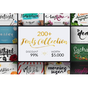 200+ Fonts Inkydeals - Hand Casamento 15 Anos Premium