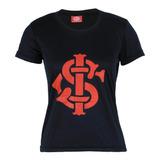 Camisa Internacional Baby Look Feminina Original Torcedor