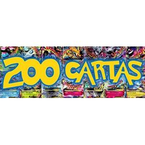 200 Cartas Pokémon - Sem Repetidas