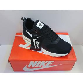 Mercado Zapatos Air Venezuela Max Nike Thea Libre En Negro 6wg4Yq