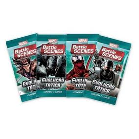 Marvel Battle Scenes Evolução Tática 10 Pacs 70 Cards