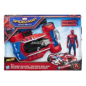 Coche De Carreras Spiderman Marvel Nerf