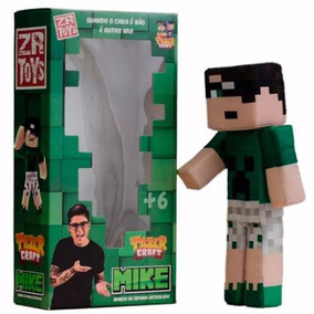 Boneco Youtuber Mike Original Zr Toys C3038