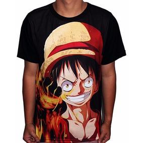 Camisas Camiseta De Animes Luffy Ruffy - One Piece - Full d59a4a7ac0c