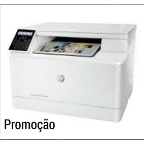 Impressora Hp Laserjet Pro Mfp M180nw Color 3 -1 Wifi 110v