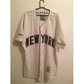 939aaf138b0c1 Camisa Baseball Usa Yankees Sem - Camisas no Mercado Livre Brasil