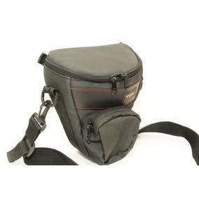 Bolso Bandolero Para Camara Profesional Reflex Nikon Canon