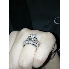 50fb619413c9 Anillo + Churumbela Cristal Grabado Corte Diamante 2 Piezas