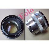 Lente Jupiter 50mm F2 Montagem Contax * Ñ É P/ Leica *cx12 &