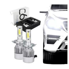 Lâmpada Farol Led Xenon H1 H4 H7 H11 6000k 7600 Lumens Coole