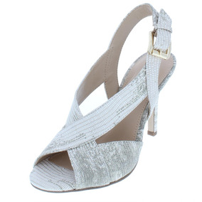 Michael Michael Kors Para Mujer Becky Cuero Hebilla Zapatos