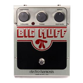 Pedal Guitarra Big Muff Fuzz Electro Harmonix Classico Usa