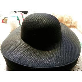 Sombrero De Hilo Negro Para Catrina 8acd82d5163
