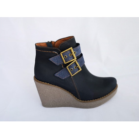 En Strady Cuero Mujer Botines Zapatos Libre Tpqxfrt 100 De Chile Mercado 0U1qd