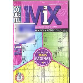 4 Revistas Em 1- Coquetel Mix Coletânea Médio Cruzadas Nº14