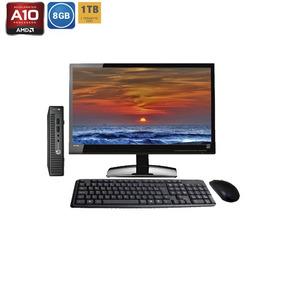 Computador Completo Hp Elitedesk 705 G3 Amd Pro A10 Hd1tb