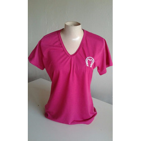 Camiseta Malha Mangalarga P Mulher Bordada Super Oferta Hoje