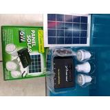 Panel Solar 6w 3 Focos De Super Led 2w Cada Uno