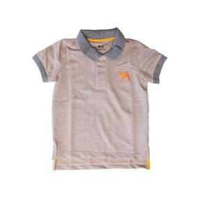 Camisa Polo Bebe Laranja - Calçados 0d8a90c4c88