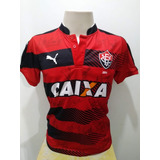 Camisa Vitória Autografada no Mercado Livre Brasil ef77e9b882d26