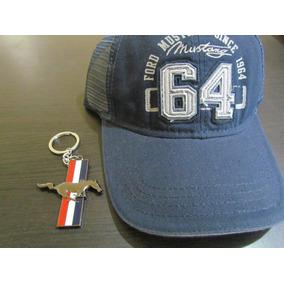 Ford Mustang Gorra   Cachucha Azul Y Llavero - Accesorios 3848461a648