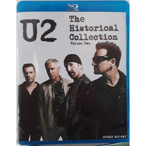 Bluray Duplo U2 Historical Collection Vol. 2 Frete Gratis