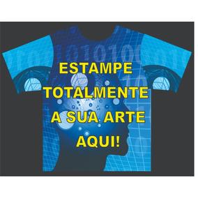 10 Camisetas Personalizadas E Estampada Totalmente P, M E G