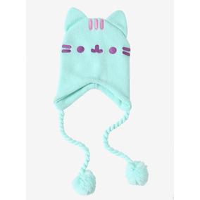 Gorro Beanie Original Hot Topic Pusheen Cat Orejas Kawaii