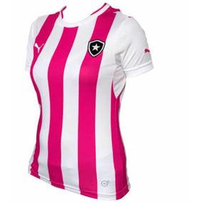 73650af71c Camiseta Feminina Do Botafogo Tradicional - Personalizada