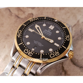 Reloj Omega Seamaster Cara Negra Automatico