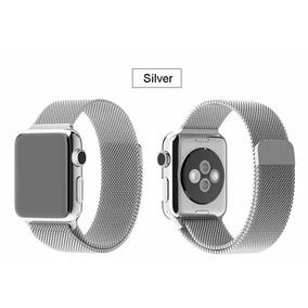 Pulseira Magnetica Metalica Apple Watch 1 2 3 4 Milanese