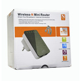 Extensor Repetidor Wifi N Hasta300mbps Ideal Video Streaming