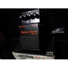 Pedal De Distorsión Boss Mt-2 Metal Zone