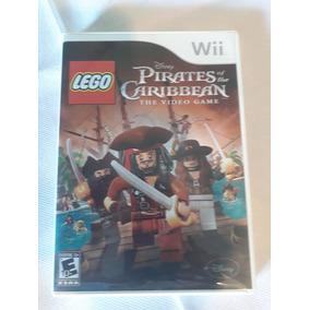 Game Lego Pirates Of The Caribbean- Wii - Importado