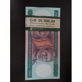 Lote Cem Notas Sequenciais De Duzentos Cruzeiros (cr$ 200)