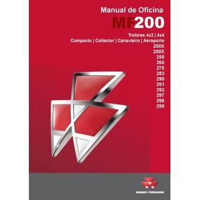 Manual Serviço Oficina Tratores Massey Linha 200 Advanced
