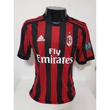 91729a4e8e Camisa Milan Home 17-18 Bonucci 19 Patch Calcio Importada