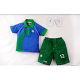 Conjunto Goleiro Infantil Palmeiras no Mercado Livre Brasil f9454a139e387
