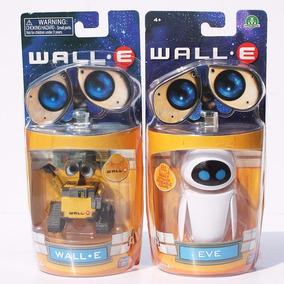 Miniaturas Wall-e E Eva Eve Bonecos - Presentes Criativos