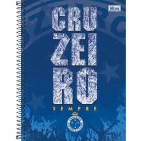 4e4816a720 Kit Caderno Do Cruzeiro - Materiais Escolares no Mercado Livre Brasil