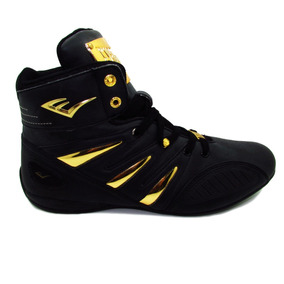 Tenis Everlast El-4000 Negro/oro Black/gold