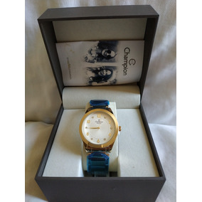 Relógio Feminino Champion Cn29230h Pronta Entrega