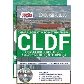 Apostila Cldf 2018 Consultor - Área Constituição E Justiça