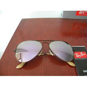 fc0b363b342 Lentes Ray Ban Aviador Aviator Café Difuminado - Gafas De Sol Ray ...