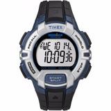 Reloj Timex Ironman 30 Lap Rugged Blck/silv/blue