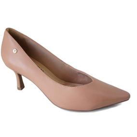 aecf60be08 Scarpin Bicolor Preto E Branco Feminino Ramarim - Sapatos no Mercado ...